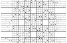 Sumo   Printable Suguru Puzzles