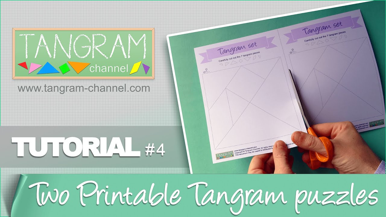 Tangrams To Cut Out - Providing Teachers And Pupils With Tangram - Printable Tangram Puzzle Pieces