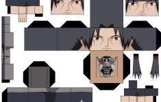 Teen Itachi Paper Toy   Free Printable Papercraft Templates   Printable Naruto Crossword Puzzles