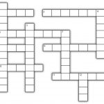 Template For Crossword Puzzle. Crossword Template Daily Dose Of   Printable Blank Crossword Puzzle Grid