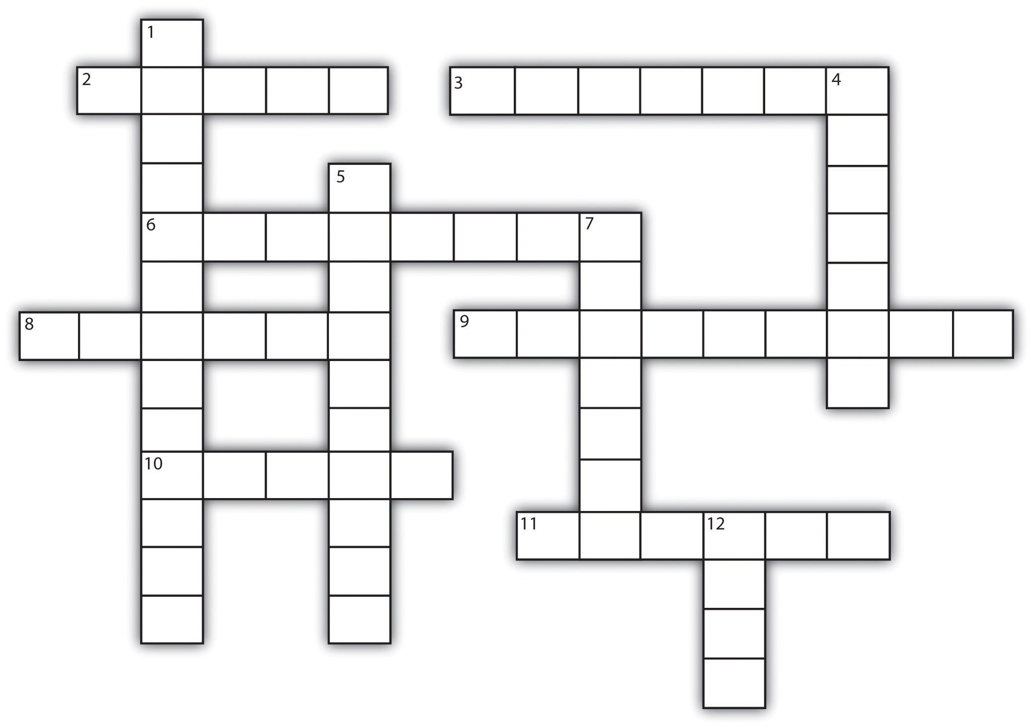Template For Crossword Puzzle. Crossword Template Daily Dose Of - Printable Blank Crossword Puzzle Template