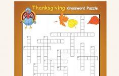 Thanksgiving Crossword: Challenging   Kids Crafts   Thanksgiving   Free Thanksgiving Crossword Puzzles Printable