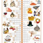 Thanksgiving Crossword Puzzle … | Puzzles | Thank…   Printable Thanksgiving Crossword Puzzles For Middle School