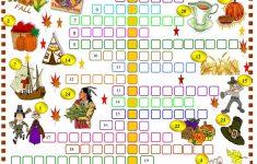 Thanksgiving: Crossword Puzzle Worksheet   Free Esl Printable   Free Thanksgiving Crossword Puzzles Printable