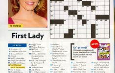 That Time I Was In People Magazine's Crossword. #tbt   Geeky Stuff   Printable Crossword Puzzles From People Magazine