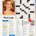 That Time I Was In People Magazine's Crossword. #tbt | Geeky Stuff   Printable People Crossword Puzzles