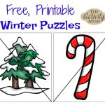 The Activity Mom   Free Printable Winter Puzzles   The Activity Mom   Printable Puzzles Winter