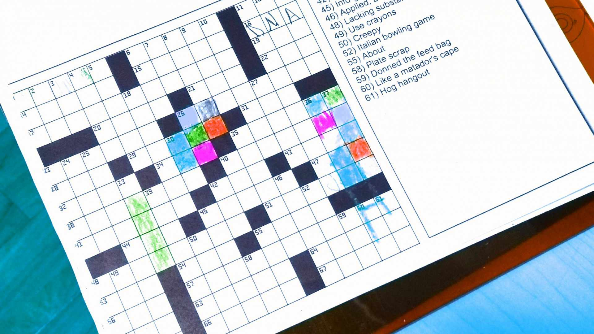 The Best Free Crossword Puzzles To Play Online Or Print - Printable Syllacrostic Puzzles