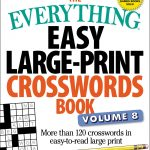 The Everything Easy Large Print Crosswords Book, Volume 8 | Book   Large Print Crossword Puzzle Dictionary