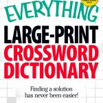 The Everything Large Print Crossword Dictionary Ebookcharles   Large Print Crossword Puzzle Dictionary