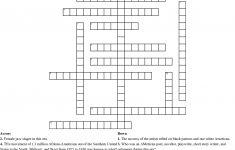 The Harlem Renaissance Crossword   Wordmint   Renaissance Crossword Puzzle Printable