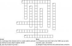 The Italian Renaissance Crossword   Wordmint   Printable Crossword Puzzles In Italian