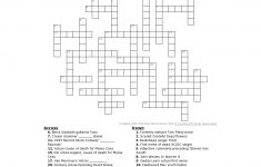 The Medium Sized Rock And Roll Crossword! | Rocknuts   Printable Rock And Roll Crossword Puzzles