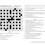 The Nation Cryptic Crossword Forum: Nat Hentoff (Puzzle No. 1,066)   Printable Diagramless Puzzles