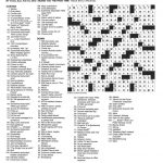 The New York Times Crossword In Gothic: 02.10.13 — Blizzard Blizzard!   Will Shortz Crossword Puzzles Printable
