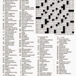 The New York Times Crossword In Gothic: 04.12.15 — Look What Turned   Will Shortz Crossword Puzzles Printable