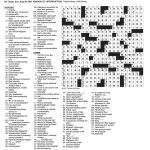 The New York Times Crossword In Gothic: August 2011   Universal Crossword Puzzle Printable