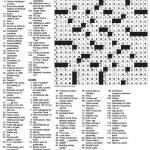 The New York Times Crossword In Gothic: July 2010   Printable Patternless Crossword Puzzles