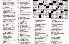 The New York Times Crossword In Gothic: November 2014   La Times Printable Crossword 2014