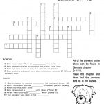 The Prayer Of Faith   Crossword Puzzle | Coloring Pgs | Crossword   Printable Epiphany Crossword Puzzle