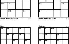 The Puzzle That Makes You Smarter   Pdf   Printable Kenken Puzzles 6X6