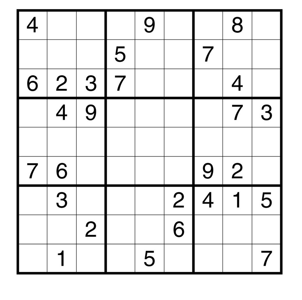 The Wingèd Elephant: Free Sudoku Puzzle For You - Printable Hitori Puzzles