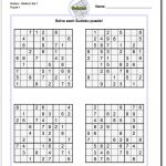These Printable Sudoku Puzzles Range From Easy To Hard, Including   Printable Battleship Puzzles