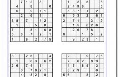 These Printable Sudoku Puzzles Range From Easy To Hard, Including   Printable Battleships Puzzle