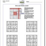 These Printable Sudoku Puzzles Range From Easy To Hard, Including   Printable Puzzles Pdf
