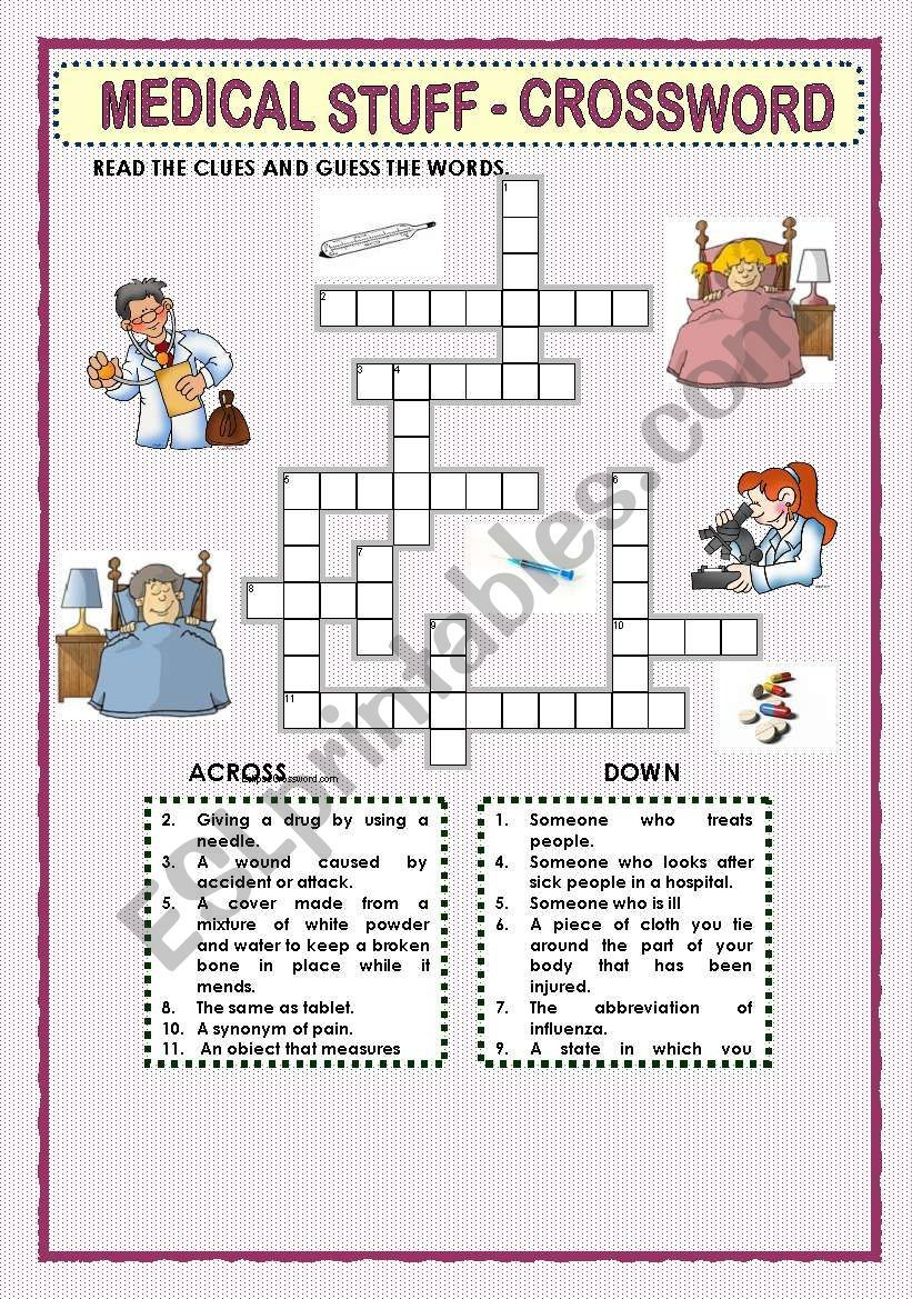 This Crossword Puzzle Was Created With Eclipse Crossword. | Nurses - Printable Nursing Crossword Puzzles