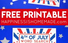 This Fun Printable 4Th Of July Word Search Puzzle Is A Ton Of Fun   Printable July 4Th Puzzles