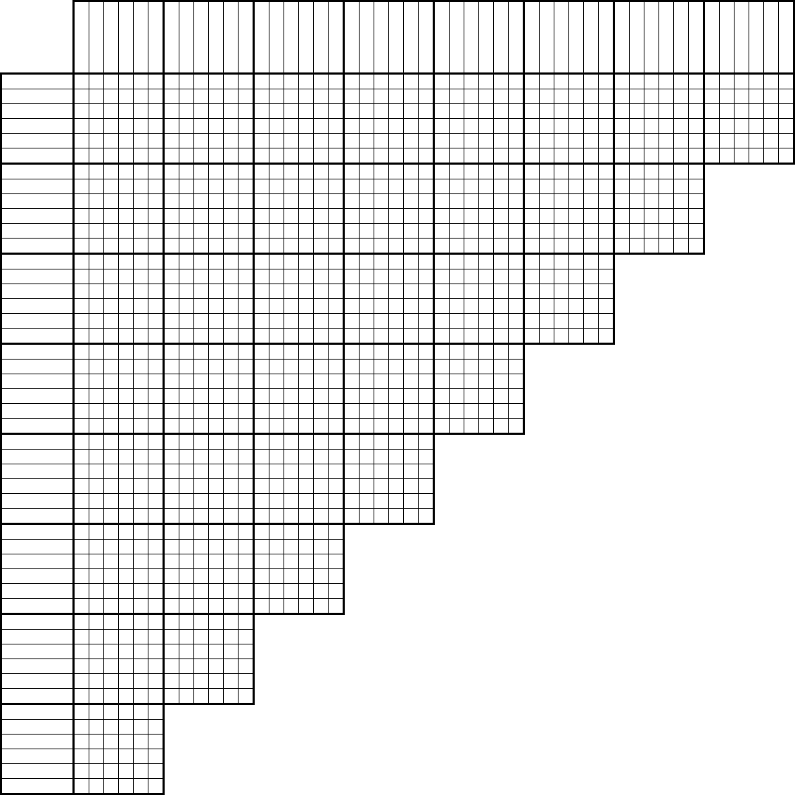 Tlstyer - Logic Puzzle Grids - Printable Grid Puzzles