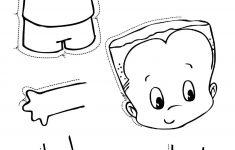 Toddler Body Parts Puzzle.   Lichaam   Lichaamsdelen, Het Lichaam En   Printable Puzzle Toddler