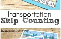 Transportation Skip Counting Puzzles For Hands On Math | Free   Printable Transportation Puzzles