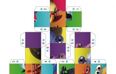 Turbo 3D Puzzle Boxes 1 3   Letter Of The Week   Craft Activities   Printable 3D Puzzles