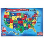 U S A Map Puzzlemelissa Amp Doug Printable Of United States – United – Printable Usa Puzzle