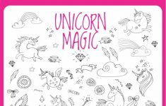 Unicorn Magic Find And Color | Puzzles | Unicorn, Unicorn Party   Printable Unicorn Puzzles