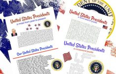 United States Presidents Printable Game Set Of 4 Crossword | Etsy – Presidents Crossword Puzzle Printable