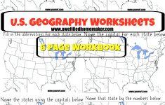 Us Geography Printable Workbook | Homeschool Geography | Us   Printable Geography Puzzles