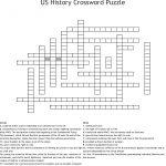 Us History Crossword Puzzle Crossword   Wordmint   Printable Us History Crossword Puzzles