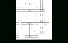 Us States Fun Facts Crossword Puzzles | Free Printable Travel   Printable Usa Crossword Puzzles