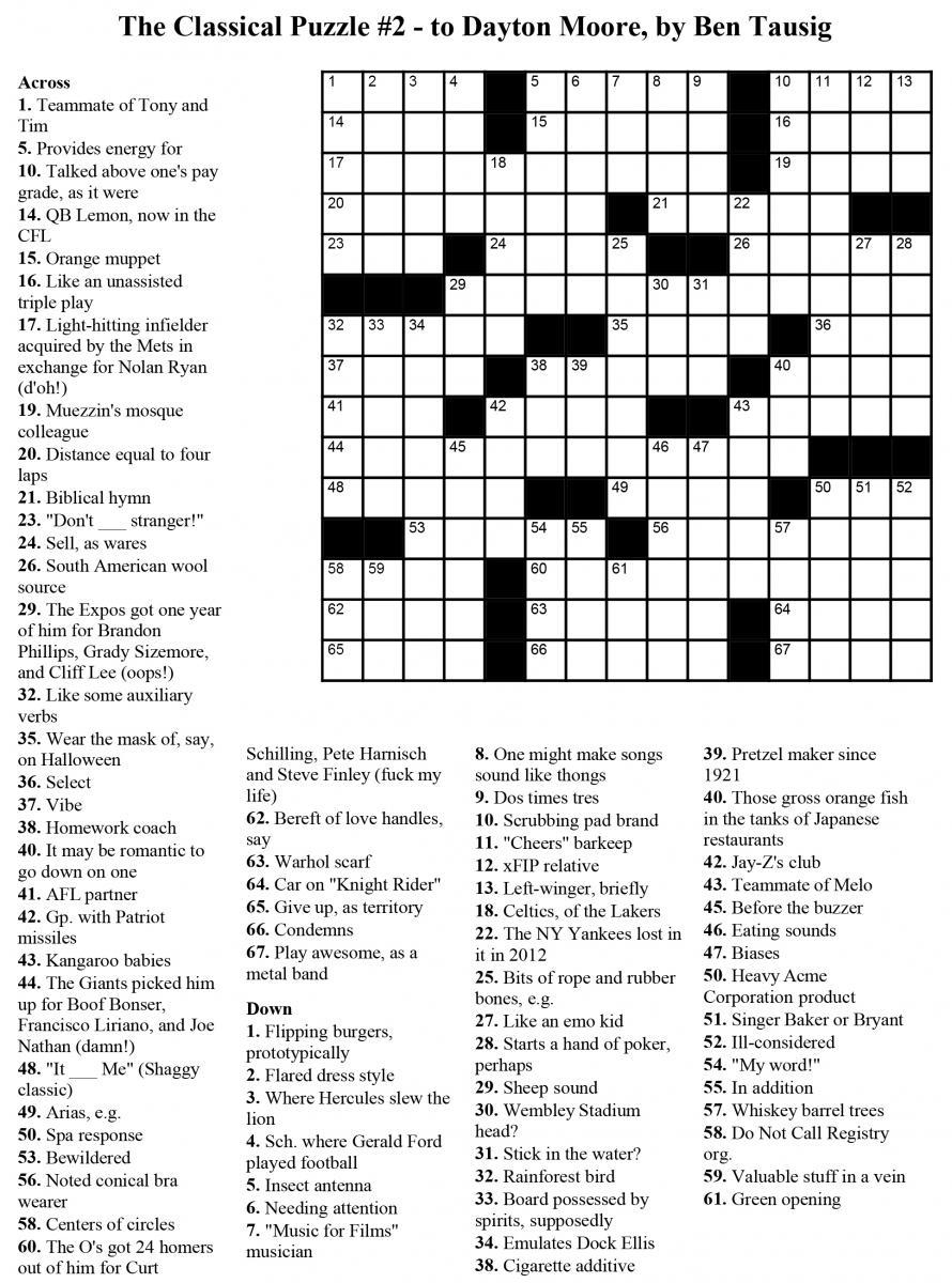 Usa Crossword Puzzles Printable – Jowo - Free Printable Crosswords - Usa Today Printable Crossword Puzzles