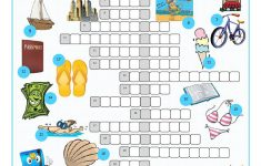 Vacation Crossword Puzzle Worksheet   Free Esl Printable Worksheets   Free Printable Crossword Puzzles Holidays