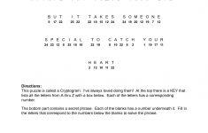 Valentine Cryptograms To Print   Valentines Cryptogram   Puzzles   Printable Puzzles Cryptograms
