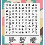 Valentine Word Search   Printable Puzzles   10X10 Wordsearch Grid   Printable Valentine Puzzles For Adults