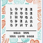 Valentine Word Search   Printable Puzzles   Easy 5X5 Grid For   Printable Valentine Puzzles For Adults