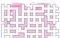 Valentines Day Criss Cross Puzzle | Free Printable Puzzle Games   Free Printable Valentine Puzzle Games