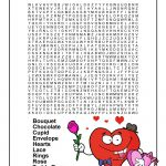 Valentine's Day Word Worksheets | Woo! Jr. Kids Activities   Printable Valentine Puzzles For Adults
