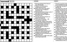Variety: Cryptic Crossword   The New York Times   Printable Ny Times Crossword Puzzles