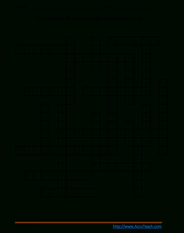 Verb Tense Crossword Puzzle Worksheet - Crossword Puzzle Printable 5Th Grade
